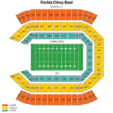 Citrus Bowl Seating Chart Football Tickets For The Citrus Bowl Game