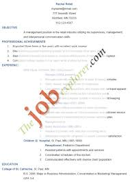 Resume Retail Objective Objectives For Retail Resumes Resume Template Word Objective In 20