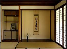 Interior of a Japanese house ...