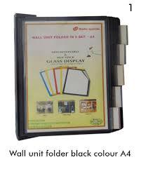 wall unit folders