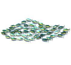 metal fish wall art sculptures metal fish wall art sculptures dazzling design school of fish metal metal fish wall art