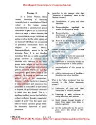 UPSC CIVIL SERVICES MAINS EXAM       General Studies Paper         Entrance Exam net