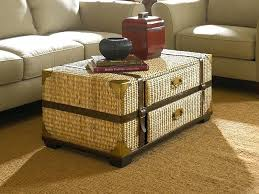wicker coffee table with storage coffee table chest with storage wicker cool new trunk plan wicker wicker coffee table with storage