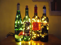 Glass Bottle Lamps Wine Bottle Accent Light 15 Steps With Pictures