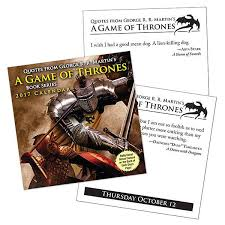 Daily Calendar New 48 Game Of Thrones Daily Quotes Calendar ThinkGeek