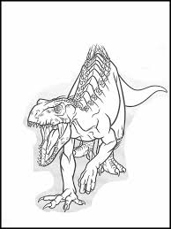 Jurassic World Kleurplaten Printen 35