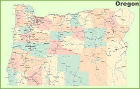 oregon state maps  usa  maps of oregon (or)