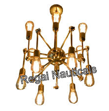 Sputnik Spider Form Kronleuchter Beleuchtung 12 Light Decke