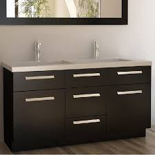 dual vanity bathroom: inch double sink vanity set contemporary bathroom vanities and sink