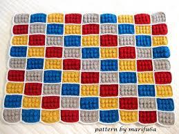 how to crochet lego blanket pattern by AndreaLBaker tutorial haga ... & how to crochet lego blanket pattern by AndreaLBaker tutorial haga ganchillo  lego - YouTube Adamdwight.com