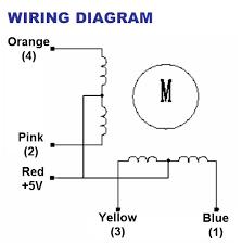 4 phase step motor cookbook mbed Stepper Motor Circuit Diagram at Stepper Motor 4 Wire Diagram