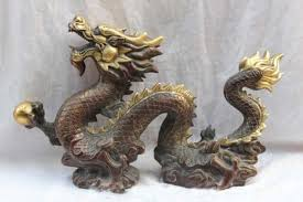 A dragon figurine. In Feng Shui ...