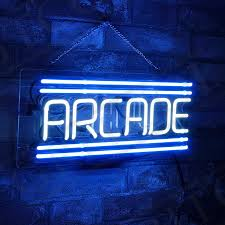 details about arcade hand craft custom neon sign boutique pub bedroom party wall display