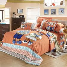 bedspread teddy bear sheet bedding set king queen size full double doona cotton bedspreads quilt