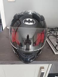 warner brothers batman motorcycle helmet large in erskine