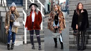 winter fashion guide how to style faux fur coats
