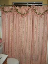 pink shower curtains. Bathroom Shabby Chic Furniture Near Me Bedding Curtains Pink Shower