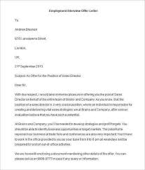 75 offer letter templates pdf doc