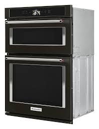 single electric convection wall oven