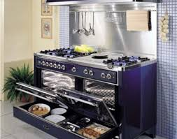 gas stove top cabinet. Blue Cabinet And Impressive Kitchen Aid Gas Stove For Unique Plan With Grey Ceramic Floor Top