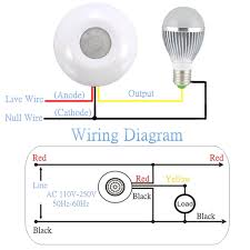 alarm motion sensor wiring diagram wiring library 360 infrared human body induction switch pir motion sensor in rh hrwang me multiple pir sensor pir sensor wiring diagram