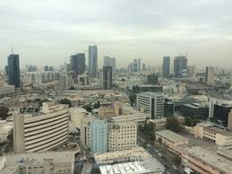 tel avivs central business district as viewed from an office tower photo by abe schear atlanta tel aviv business