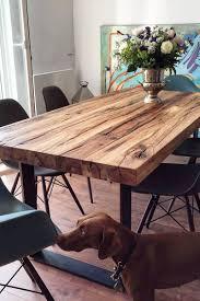 Esstisch Massivholztisch Nussbaum Holztisch Naturkante Holzwerk