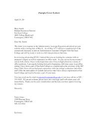 Resume Administrative Assistant Sample Cover Letter Best