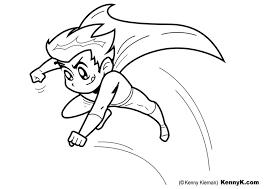 Kleurplaat Superheld Afb 20051 Images