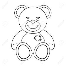 Teddy Bear Design Teddy Bear Toy Isolated Vector Illustration Graphic Design