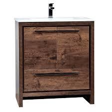 bathroom place vanity contemporary:   modern bathroom vanity allier l rosewood