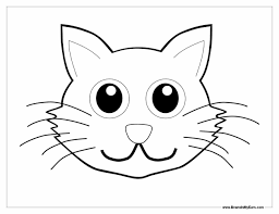 Small Picture Page Cats Coloring Cat Coloring Page Cat Pages For Kids Black