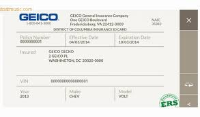 how to make a fake geico auto insurance card for free billingss co