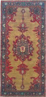 koliai red runner hand knotted 5 2