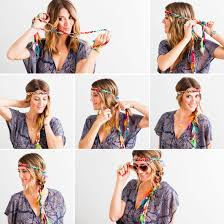 How To Make A Hair Style take a headband that wraps and braid it right into your hair 6142 by wearticles.com