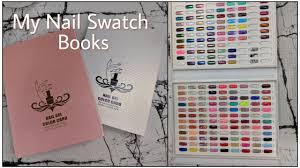 My Gel Polish Dip Powder Swatch Books