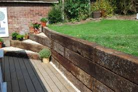 Small Picture Dualscape Portfolio Garden Pinterest Railway sleepers