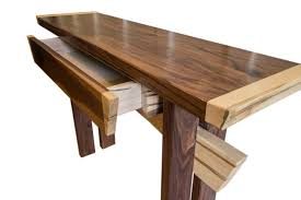 asian inspired furniture. Custom Made Asian Inspired Maple And Walnut Entry Table, Console Art Furniture, Furniture -