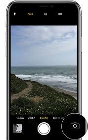 iphone 6 kamera asetukset