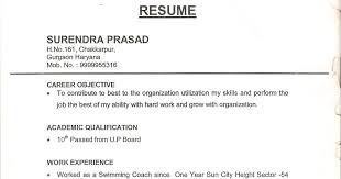 Office Boy Resume Format Sample Resume Template Ideas