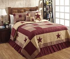 rustic burdy bedding king