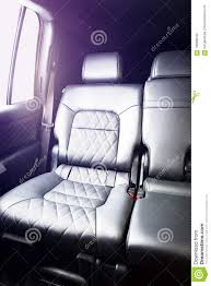 Car Seat With Lights Back Passenger Seats Stock Photo Image Of Back Clean