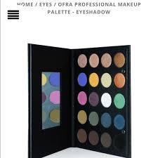 ofra professional eyeshadow palette