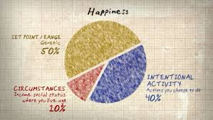 The Elusive Happiness Including A Pie Chart Of Happy The