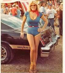 Miss Hurst - Linda Vaughn back in 1977... - HotRodHarrys.com | Facebook