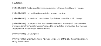 consultant proposal template consulting proposal templates and letters with 5 best examples