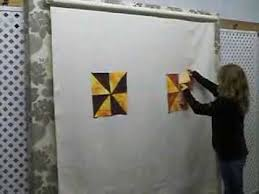 Easy Quilt Systems - Retractable Design Wall - YouTube &  Adamdwight.com