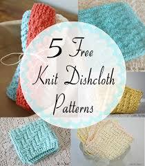 Sugar And Cream Knit Dishcloth Pattern Gorgeous Little Miss Stitcher 48 Free Knit Dishcloth Patterns