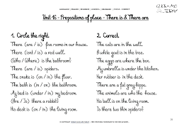 prepositions of place exercises worksheets – deffufa.info