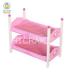 tb050 whole erfly wooden doll bunk bed with mattress doll bedroom furniture for